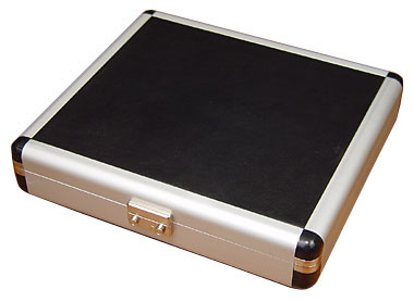 Black & Silver Travel Humidor