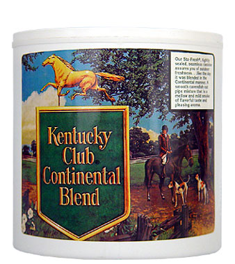 Kentucky Club Continental Blend Pipe Tobacco 12oz Can