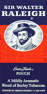 Sir Walter Raleigh Pipe Tobacco 6 - 1.5oz Packs
