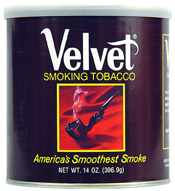 Velvet Pipe Tobacco 12oz Can