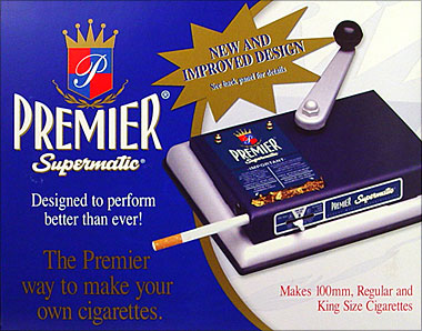 PREMIER SUPERMATIC FILTER CIGARETTE MAKING MACHINE