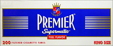 PREMIER SUPERMATIC FULL FLAVOR KING SIZE TUBES- 200CT