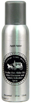 Smoke Out/Odor Out Fabric Refresher Spray Apple Spice