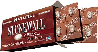 STONEWALL DISSOLVABLE TOBACCO PIECES - NATURAL - 1 PACK OF 20