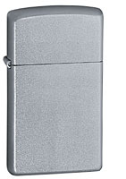 ZIPPO SLIM SATIN CHROME
