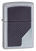 ZIPPO GRIP EMBLEM - SATIN CHROME