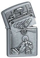 ZIPPO POOL PLAYER EMBLEM