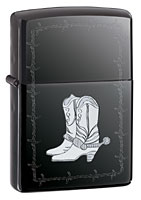 Buy ZIPPO SILVER BOOTS