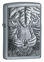 ZIPPO TIGER - STREET CHROME