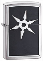 ZIPPO SIX POINT THROWING STAR - BRUSHED CHROME