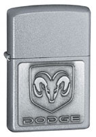 Buy ZIPPO DODGE RAM EMBLEM - SATIN CHROME