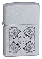 ZIPPO JACK DANIELS COLLAGE - SATIN CHROME