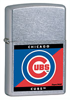 ZIPPO MLB CUBS - STREET CHROME
