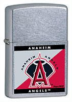 ZIPPO MLB ANGELS - STREET CHROME