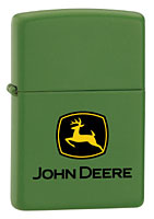 ZIPPO JOHN DEERE - JD GREEN MATTE