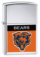 ZIPPO NFL BEARS LOGO - HIGH POLISH CHROME