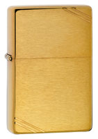 ZIPPO VINTAGE BRUSHED BRASS