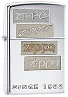 ZIPPO CHROME GENERATIONS - HIGH POLISH CHROME