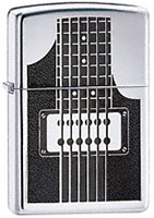 ZIPPO ELECTRIC GUITAR - HIGH POLISH CHROME