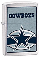 ZIPPO NFL DALLAS COWBOYS - BRUSHED CHROME