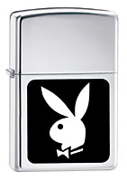 Buy ZIPPO PLAYBOY IN BLACK and WHITE