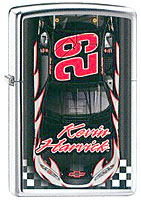 "ZIPPO KEVIN HARVICK ""#29 FINISH LINE"" - HIGH POLISH CHROME"