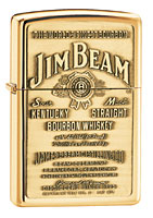 Buy ZIPPO JIM BEAM BRASS EMBLEM - HIGH POLISH BRASS