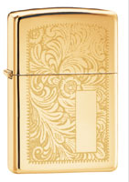 ZIPPO VENETIAN - HIGH POLISH BRASS