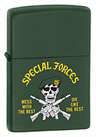 Buy ZIPPO U.S. ARMY SPECIAL FORCES - GREEN MATTE
