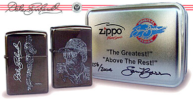 "ZIPPO ""THE GREATEST"" & ""ABOVE THE REST"" - BLACK ICE"