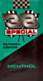 38 Special Filtered Cigars - Menthol 100 Box