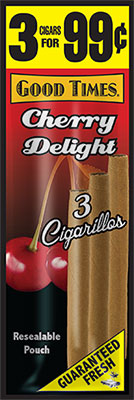Good Times Cigarillos Cherry Delight 45ct