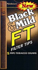 BLACK and MILD FT FILTER TIP CIGARS 110MM 10 - 5PKS