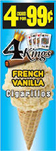 4 Kings Cigarillos French Vanilla 15ct Box