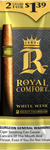 ROYAL COMFORT CIGARILLOS WHITE WINE 2  -  $0.99 15CT BOX