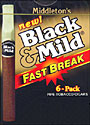 BLACK and MILD FAST BREAK 10 - 6PK BOX