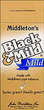 BLACK and MILD MILD CIGARS 25 COUNT BOX
