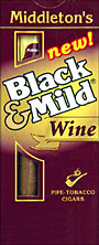 BLACK and MILD WINE CIGARS 10 - 5PKS