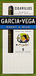 GARCIA Y VEGA CIGARILLOS SWEET and MILD 10 5 - PKS