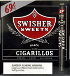 Swisher Sweets Cigarillos Foil Black  60CT Bonus Box