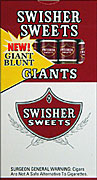 SWISHER SWEETS GIANT 10 - 5PKS