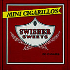 SWISHER SWEETS MINI CIGARILLOS - 60CT BOX
