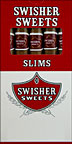 SWISHER SWEETS SLIMS 10 - 5 PKS