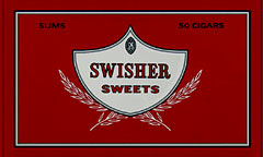 SWISHER SWEETS SLIMS 50CT BOX