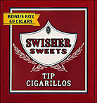 SWISHER SWEETS TIP CIGARILLOS 60CT BOX