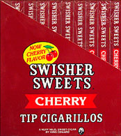 Swisher Sweets Tip Cigarillos Cherry 20 - 5pks