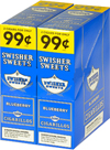 Swisher Sweets Cigarillos 2 - $0.99 Blue - 30 - 2ct