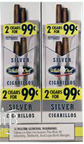 White Owl Cigarillos Silver- Foil Pouch 30CT 2 - $0.99