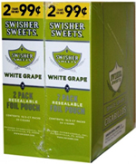 Swisher Sweets Cigarillos 2 - $0.99 White Grape - 30 - 2ct