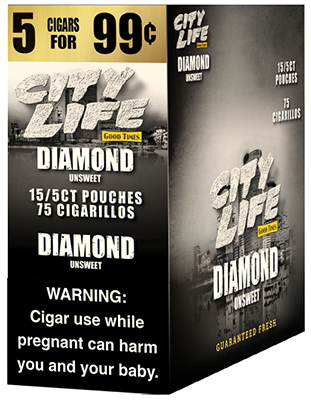 City Life Cigarillos Diamond 15ct